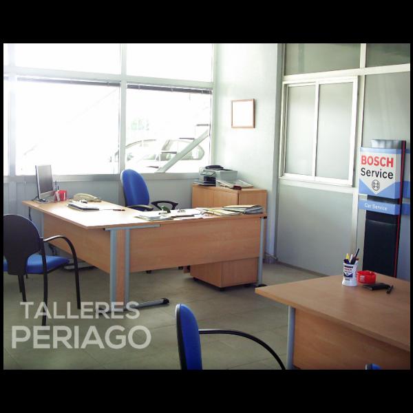 Nuestra oficina en Talleres Periago